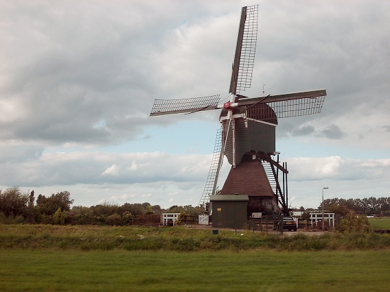 Boterslootse Molen, Noordeloos, Foto: William Bouter (10-8-2013).
