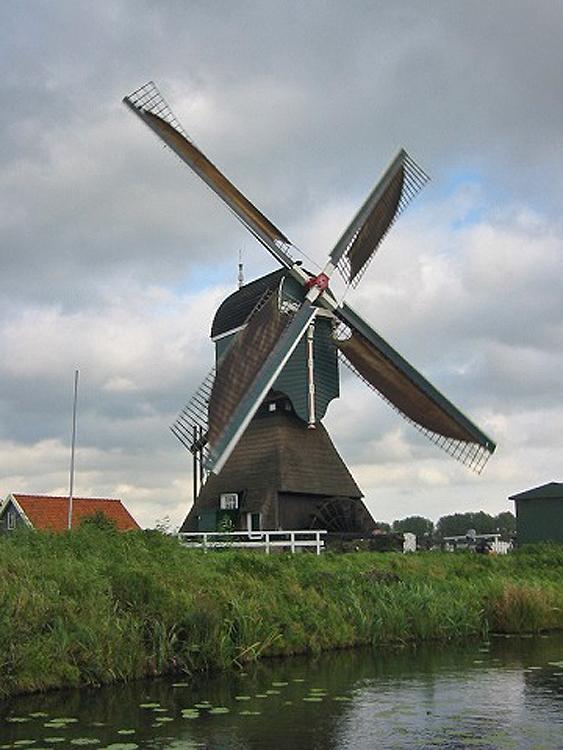 Boterslootse Molen, Noordeloos, Foto: Dennis Bommeljé (21-10-2006).