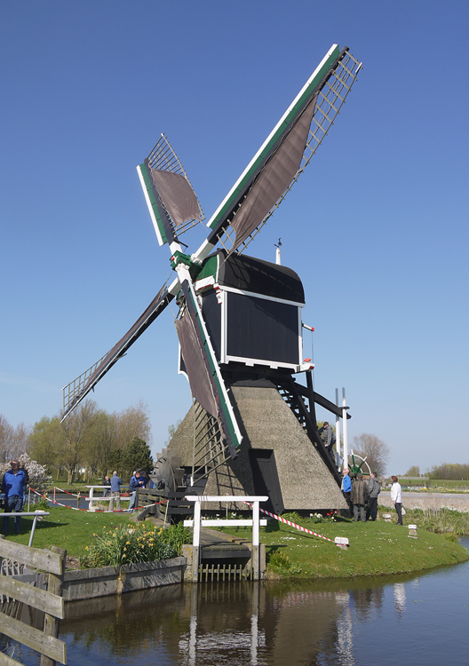 Hoogewegse Molen, Noordwijk, Foto: Matthieu Hoogduin (5-4-2014).