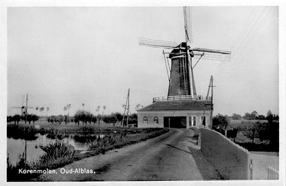 De Hoop, Oud-Alblas, Foto: ? (verzameling Rob Pols).