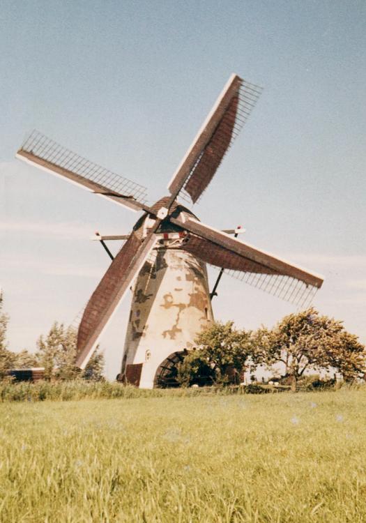 Kooijwijkse Molen, Oud-Alblas, Foto datum onbekend, ingezonden door Arie Hoek.