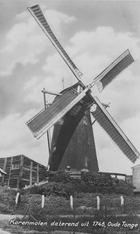 De Korenbloem, Oude-Tonge, Oude foto datum onbekend, ingezonden door Arie Hoek.