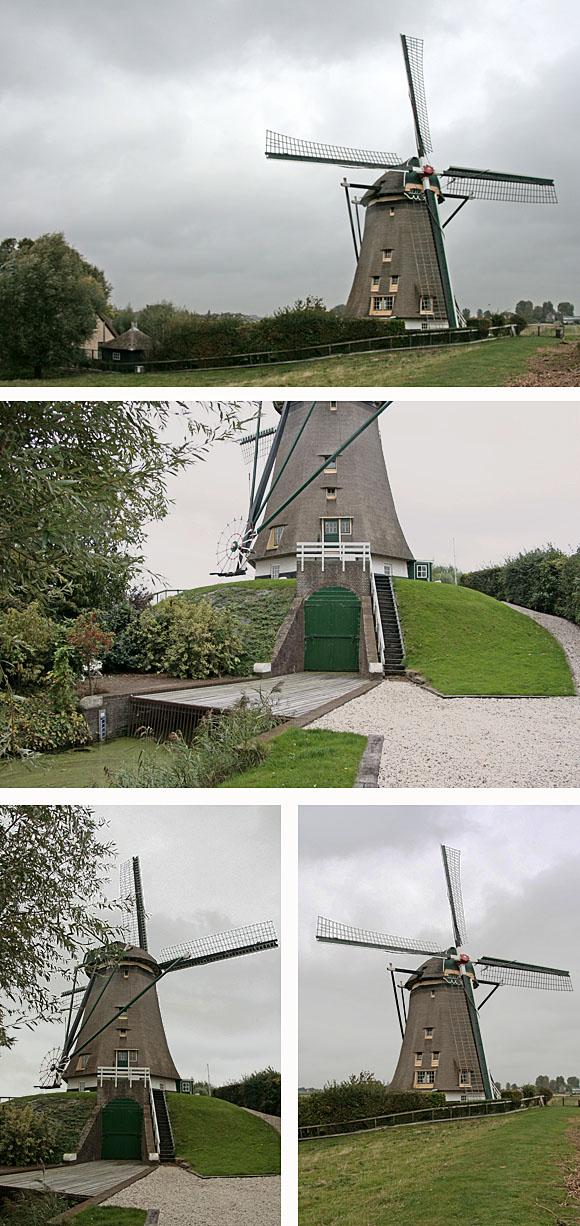 De Geestmolen, Rijnsaterwoude, Foto's: Ton Koorevaar (29-9-2009).
