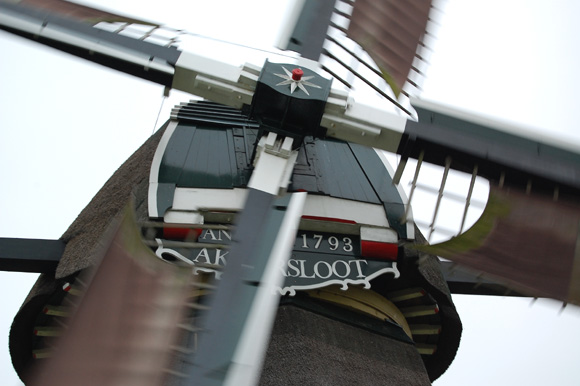 Akkerslootmolen, Oud Ade, Foto: Rob Pols (28-10-2007).