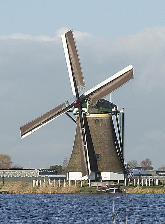 Veendermolen, Roelofarendsveen, Foto: Frank Hendriks (5-1-2014)