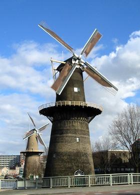 De Noord, Schiedam, Foto: Rob Pols (13-3-2005).