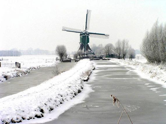 De Bachtenaar, Vlist, Foto: Wout van Groenestijn (26-2-2005).