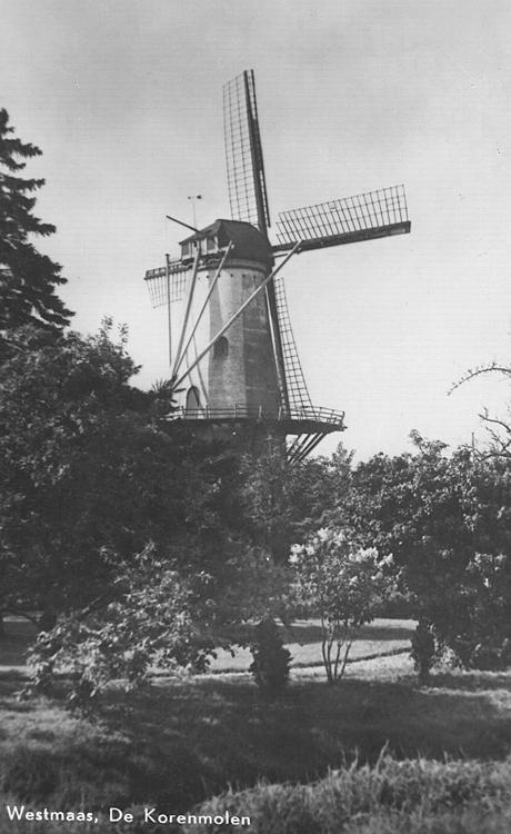 Windlust, Westmaas, Oude foto datum onbekend, ingezonden door Arie Hoek.