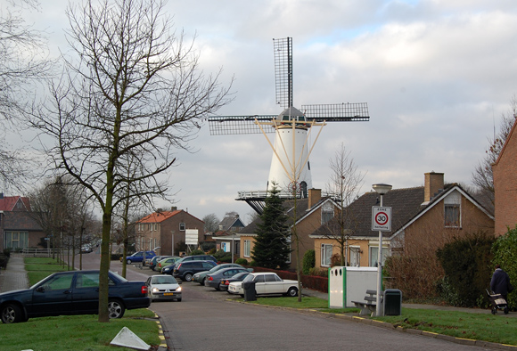 Windlust, Westmaas, Foto: Rob Pols (23-12-2008).
