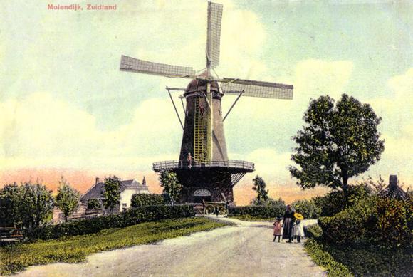 De Arend, Zuidland, De Arend omstreeks 1903. Uiterlijk is er sindsdien niet veel veranderd!  Foto: verzameling Nelly Sonneveld.