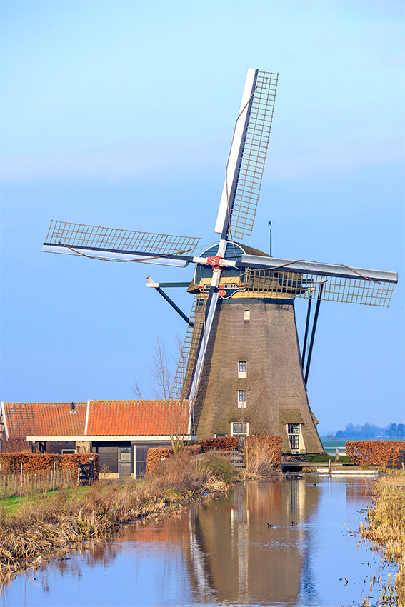 De Dikke Molen, Zwammerdam, Foto: Piet Glasbergen (16-3-2016)