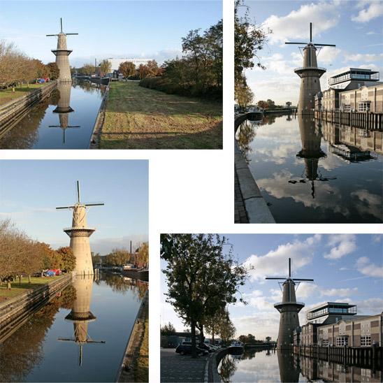 Noletmolen, Schiedam, Foto's: Ton Koorevaar (13-10-2009).