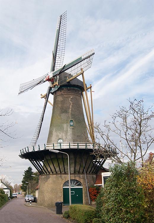 Het Vliegend Hert, Gravendeel, 's-, Foto: Kees van Drie (6-11-2015)