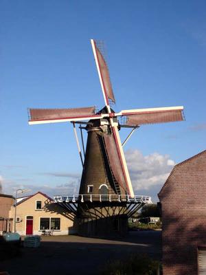 Windlust, Achthuizen, Foto: Koos Pollemans (datum onbekend).