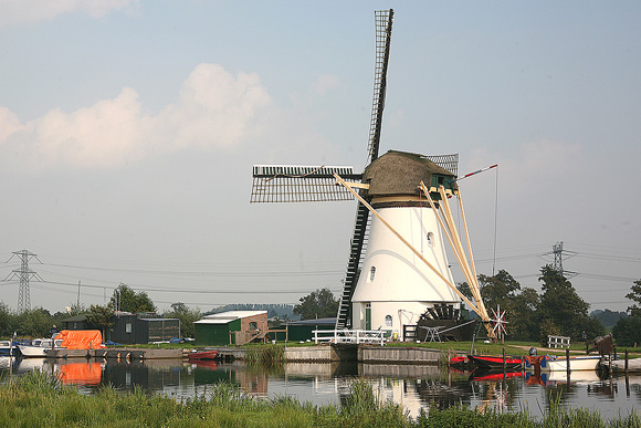 Kortlandse Molen, Alblasserdam, Foto: Frank Hendriks (21-9-2008).