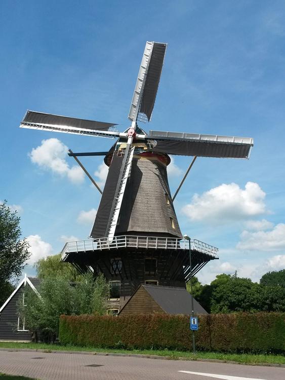 Jan van Arkel, Arkel, Na jaren weer draaiend! Foto: Justin van den Heuvel (7-7-2014).