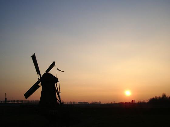 Pendrechtse Molen, Barendrecht, Foto: Barend Zinkweg (13-01-2006).