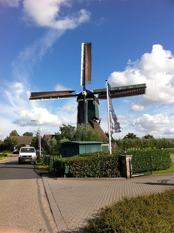 Hofwegensemolen, Bleskensgraaf, Foto: William Bouter (1-9-2015)