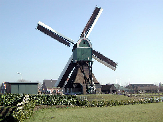 Hofwegensemolen, Bleskensgraaf, Foto: Joop Vendrig (15-5-2004).