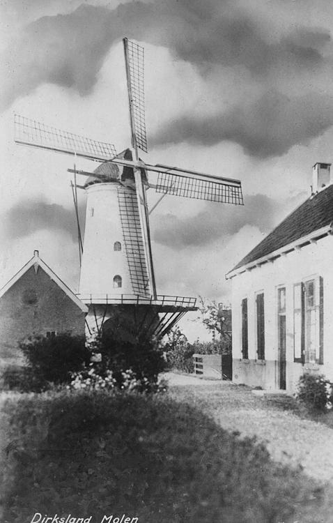 De Eendracht, Dirksland, Oude foto datum onbekend, ingezonden door Arie Hoek.