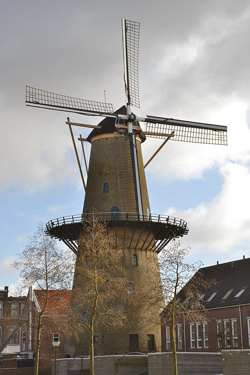 Kyck Over Den Dyck, Dordrecht, Foto: Rob Pols (24-2-2015).