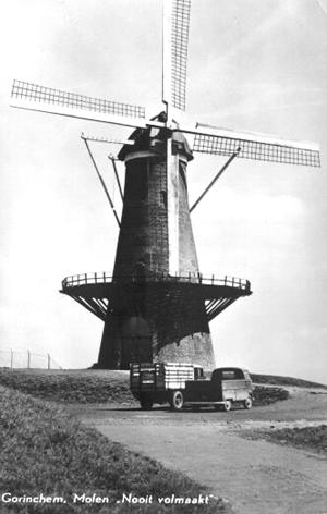 Nooit Volmaakt, Gorinchem, De Nooit Volmaakt omstreeks 1964.