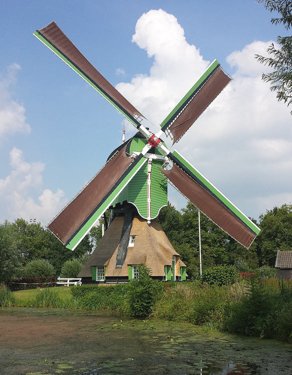 Oostmolen, Gorinchem, Foto: Theo de Rooij (27-7-2014).