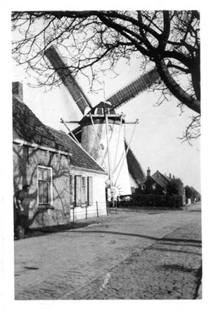 Windlust, Goudswaard, Opname uit ± 1940. Foto: ? (verzameling Ton Meesters).
