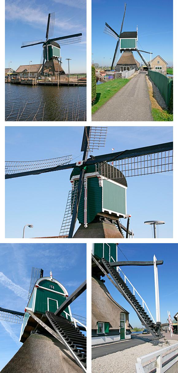 Graaflandse Molen, Groot-Ammers, Foto's: Ton Koorevaar (7-4-2011)