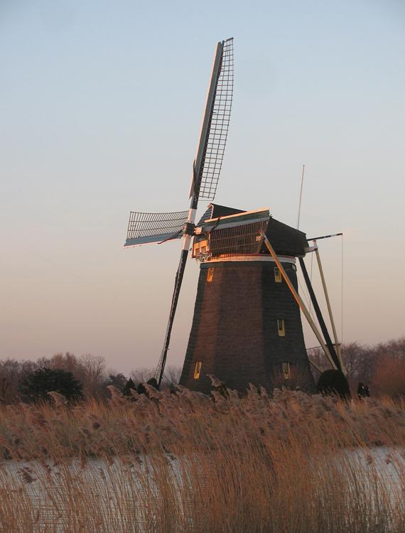 De Prinsenmolen, Rotterdam-Hillegersberg, Foto: Piet Glasbergen (4-3-2013).