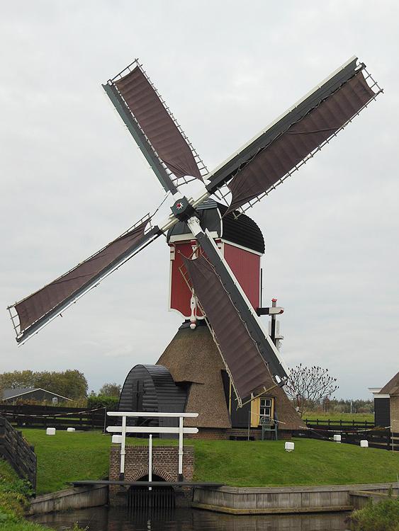 Doesmolen, Hoogmade, Foto: Frank van Onna (26-10-2014).