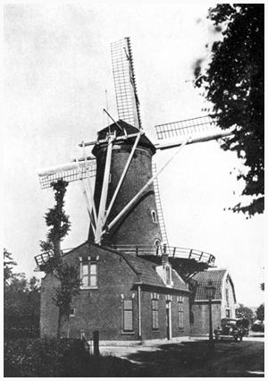 De Geregtigheid, Katwijk aan den Rijn , Foto: n.b. (verzameling Rob Pols).