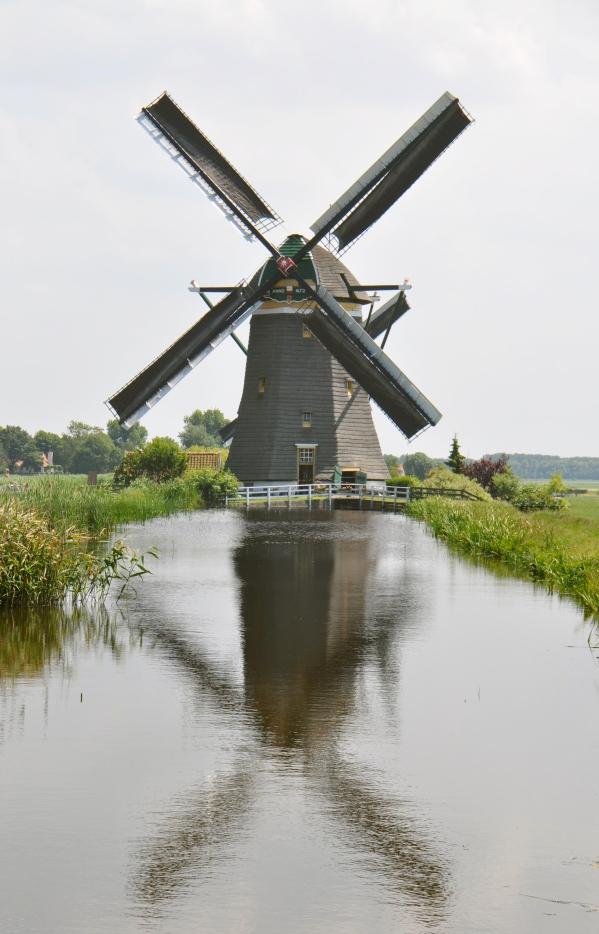 Bovenmolen (van de Driemanspolder), Leidschendam, Foto: Nancy Middelkoop (26-6-2010).