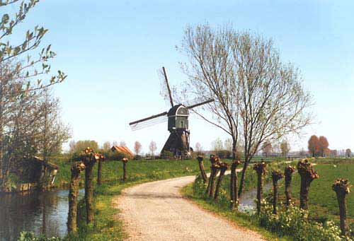 Boterslootse Molen, Noordeloos, Foto: A. Hoogduin