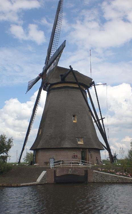 Overwaard Molen No.3, Kinderdijk, Foto: Tony Hop (17-6-2010).