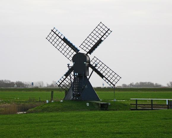 Terpzigt, Marsum (Marssum), Edo Werkman (20-12-2008).   Database Nederlandse molens