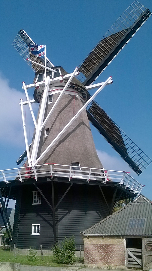 De Hoop, Holwerd, Sije Hoekstra (3-9-2014)   Database Nederlandse molens