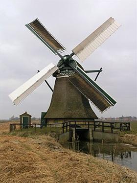 De Eendracht, Kimswerd, Foto: Willem Jans (25-3-2006). | Database Nederlandse molens