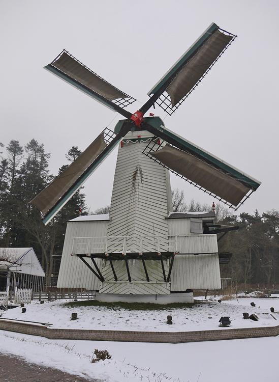Mijn Genoegen, Arnhem, Matthieu Hoogduin (26-1-2013). | Database Nederlandse molens