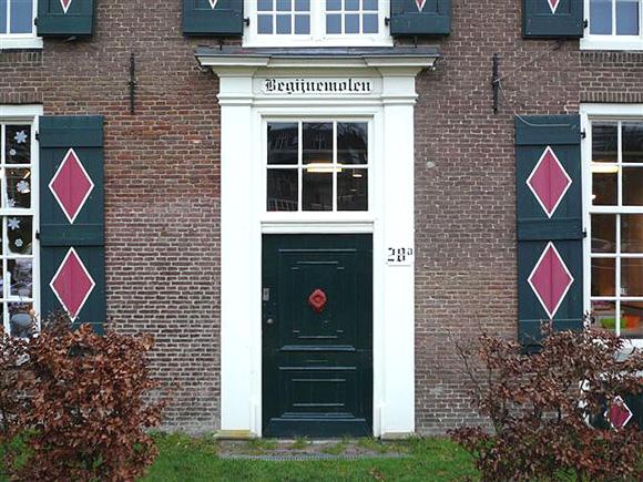 Bagijnemolen / St. Agnietenmolen, Arnhem, Sam van Voorthuizen (27-12-2007) | Database Nederlandse molens