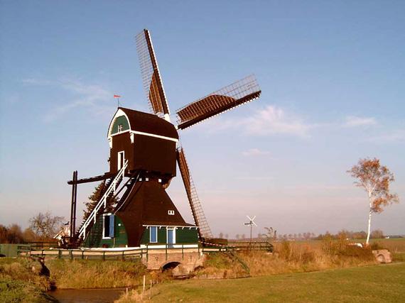 Voorste Molen / Hooglandse Molen, Hellouw, Loek Busser (8-11-2003).   Database Nederlandse molens