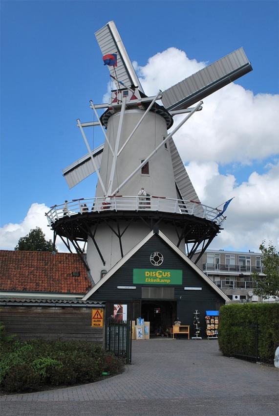 De Hoop, Haren, Martijn Scholtens (4-9-2010). | Database Nederlandse molens
