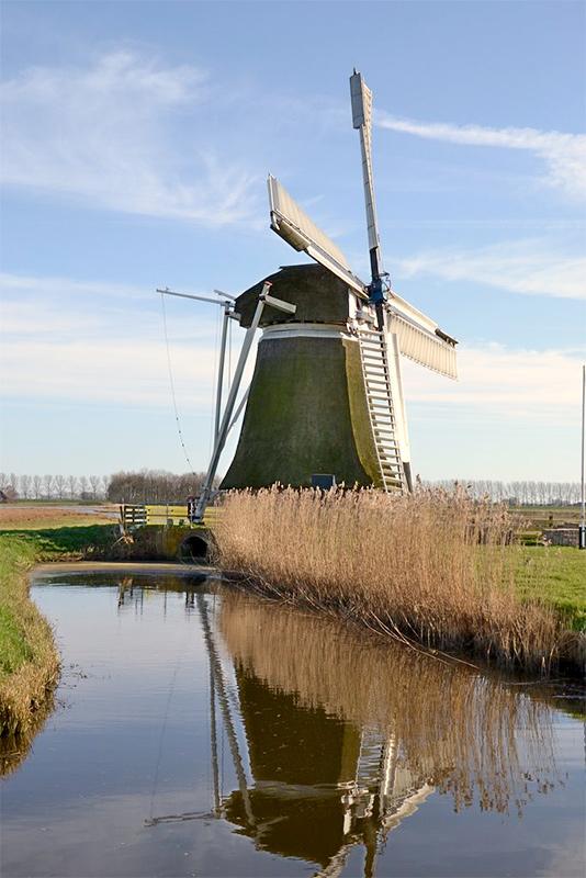 De Meervogel, Hoeksmeer, Martijn Scholtens (25-03-2012). | Database Nederlandse molens