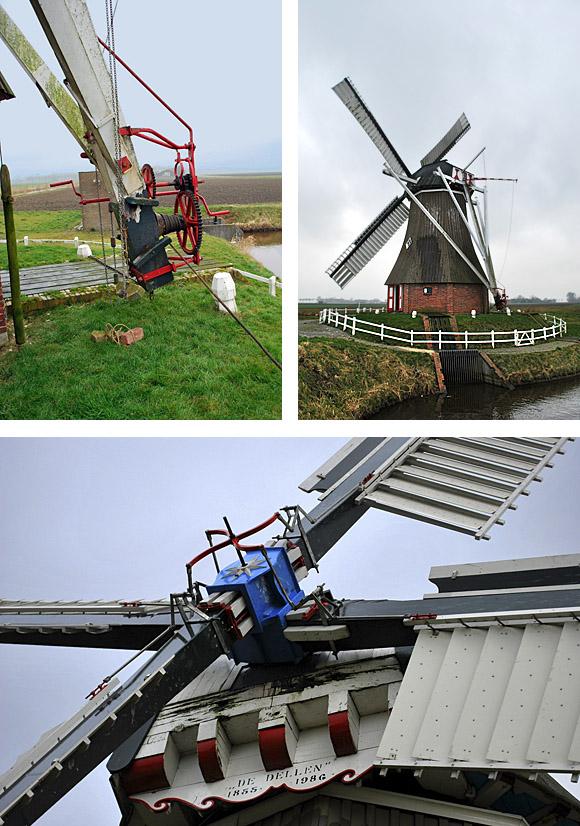 De Dellen, Nieuw-Scheemda, Martijn Scholtens (14-3-2009). | Database Nederlandse molens