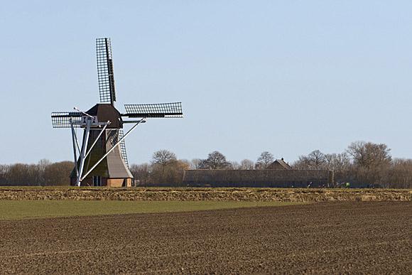 Westerse Molen / Zeldenrust, Nieuw-Scheemda, Willem Sterenberg (6-3-2011). | Database Nederlandse molens