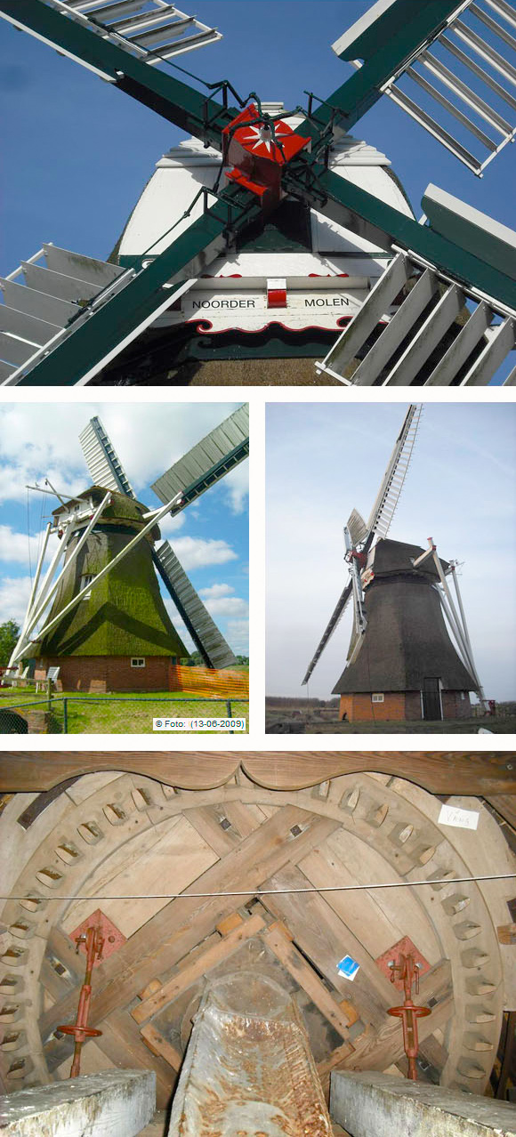 Noordermolen, Noorddijk, Rob Hoving (21-03-2010)   Database Nederlandse molens