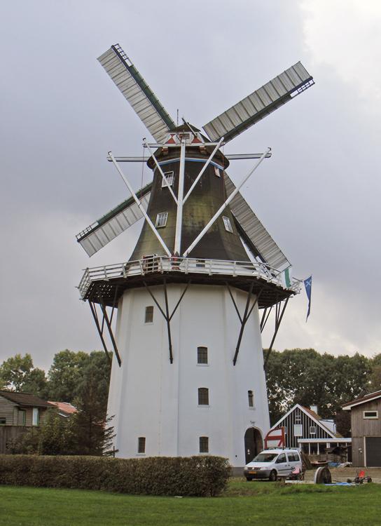Wilhelmina, Noorderhoogebrug, Martin E. van Doornik (17-10-2014). | Database Nederlandse molens