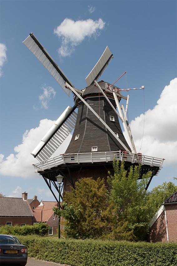 De Liefde, Uithuizen, Bram Westerink (23-5-2020)   Database Nederlandse molens