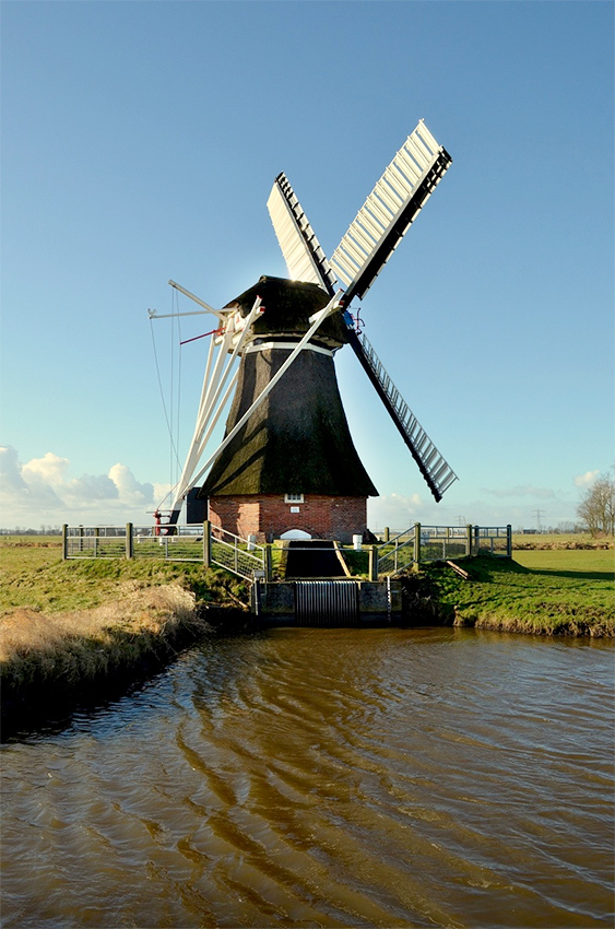 De Zuidwendinger , Vierverlaten, Rob Hoving (2-2-2013)   Database Nederlandse molens