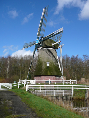 Weddermarke, Wedderbergen, Dick Buskoeke (1-3-2007). | Database Nederlandse molens